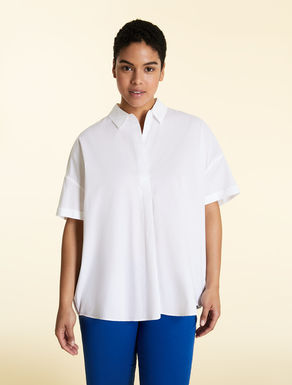 Soft cotton poplin tunic
