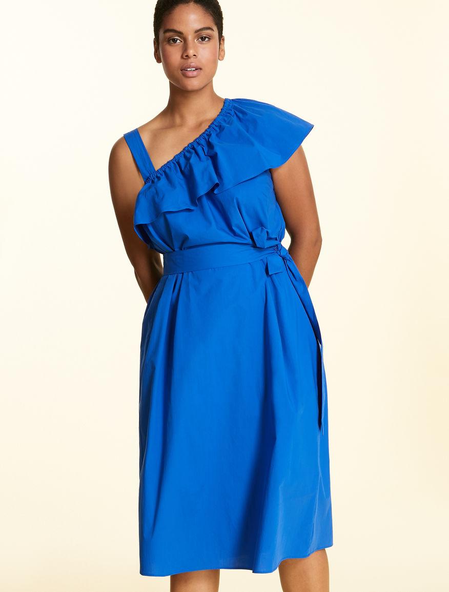 Dress in soft cotton poplin
