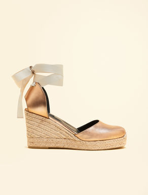 Nappa leather espadrillas