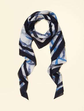 Cotton foulard