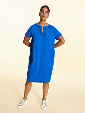 Stretch viscose jersey dress