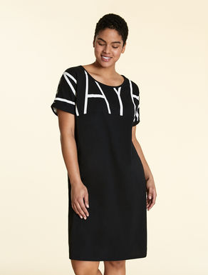 Cotton-jersey dress