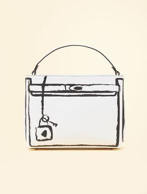 Bolso con correa con estampado gráfico