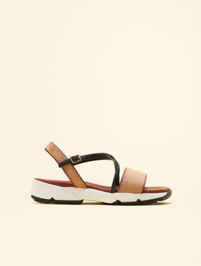 Horse leather sandals