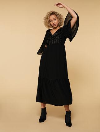 Kleid aus Georgette