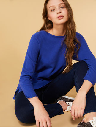 Pullover aus Kaschmir und Wolle