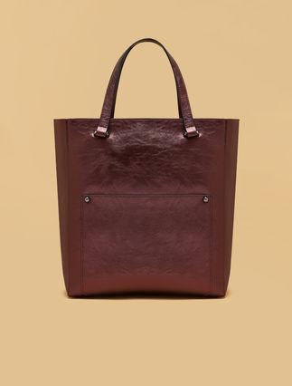 Shopper Tasche mit Beschichtungseffekt