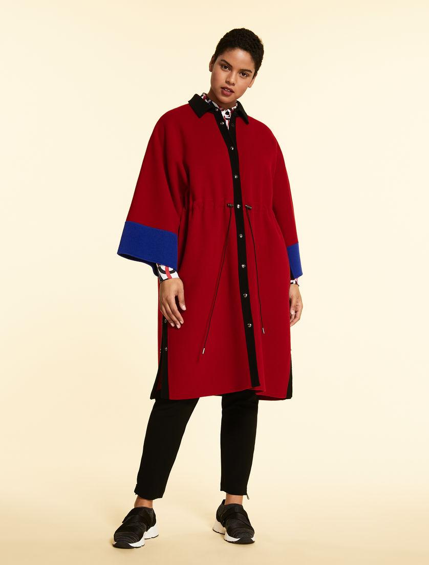 Double-sided wool coat