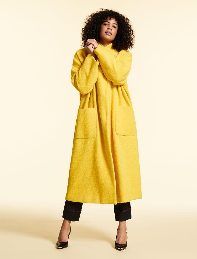 Wool/alpaca coat