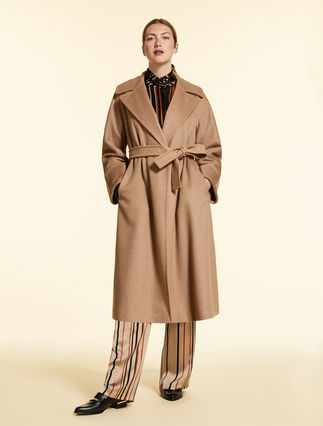 Camel broadcloth coat