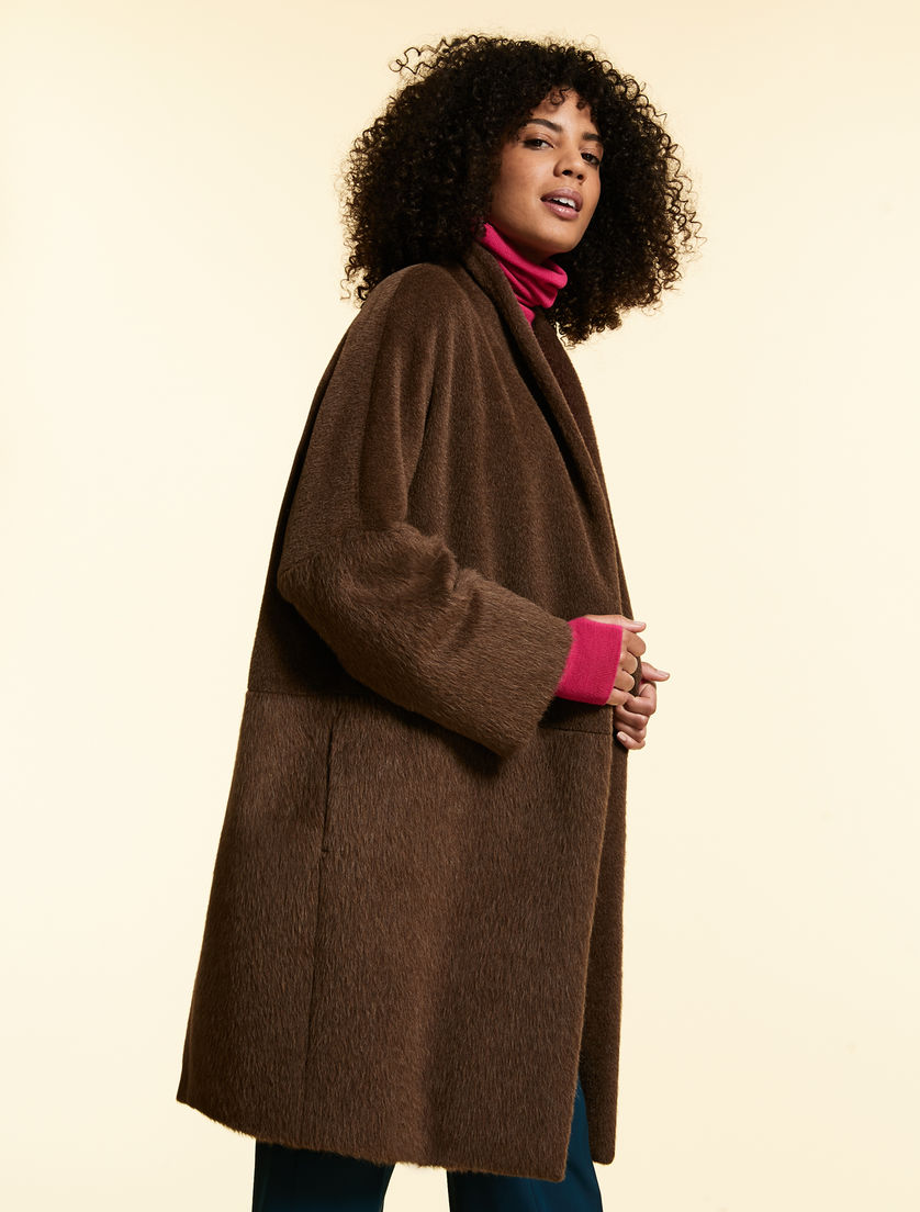 Alpaca/wool coat