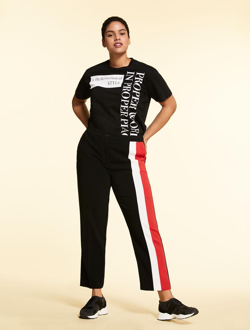 Triacetate trousers