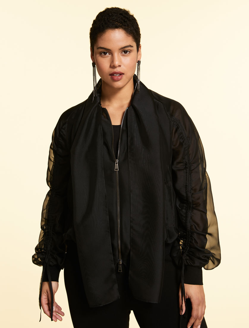 Bomber in organza
