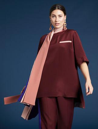 Camisola de crespón marroquí
