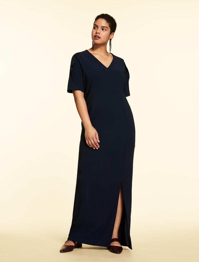 Triacetate long dress
