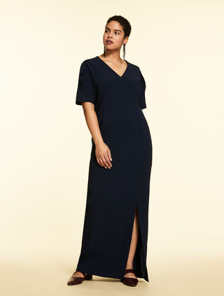 Triacetate long dress