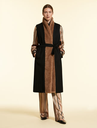 Long wool waistcoat