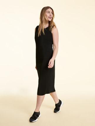 Compact viscose dress