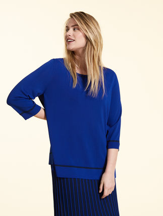 Viscose sweater