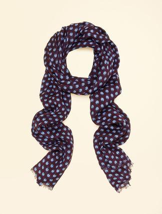Silk blend stole