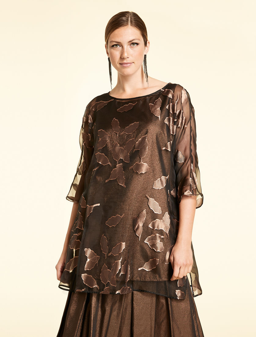 Tunic in voile