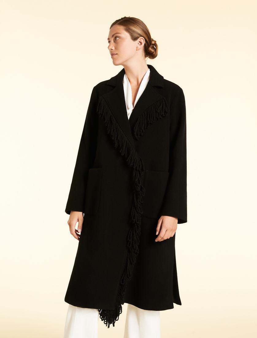 Mantel aus Wollmix
