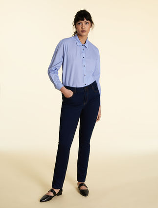 Jeans Wonder Fit aus Denim