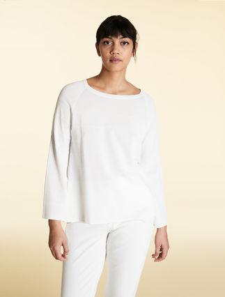 Pullover aus Viskosekrepp