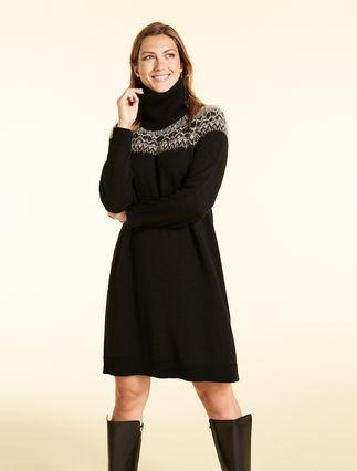 Alpaca-blend dress