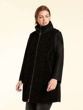 Coated-effect coat
