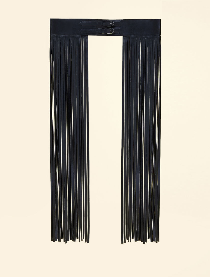 Fringed belt