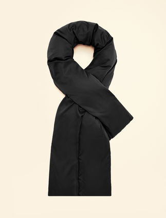 Ultralight satin stole