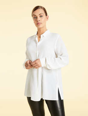 EASY Shirt in silk crêpe de chine