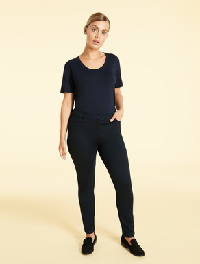 EASY Pantaloni slim fit in jersey