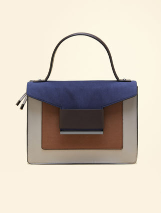 Bolso color block con bandolera