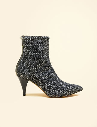 Bottines en jacquard