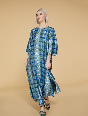 Kleid aus mattem Satin