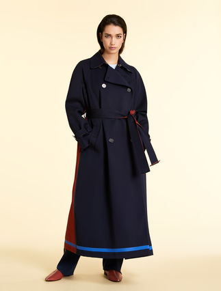 Cotton blend raincoat