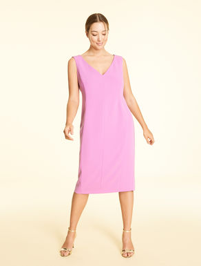 Purple and Black 3x Plus Size Sleeveless Dress Free United States Shipping