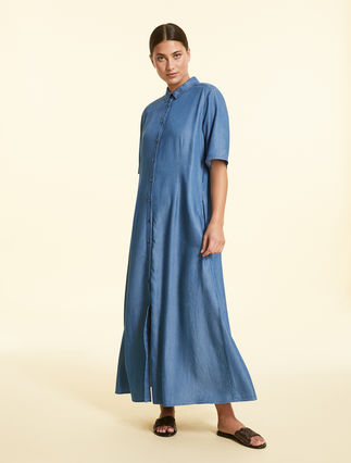 Kleid aus Tencel-Denim