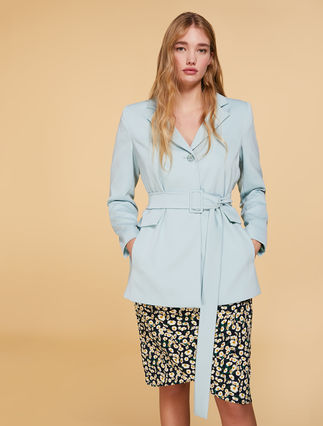 Stretch cady jacket