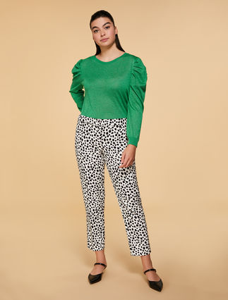 Pantalon en cady stretch