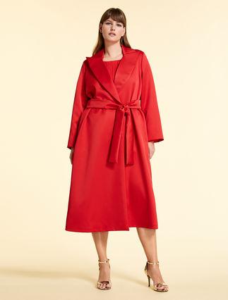 Twill duster coat