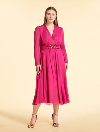 Crepon georgette dress
