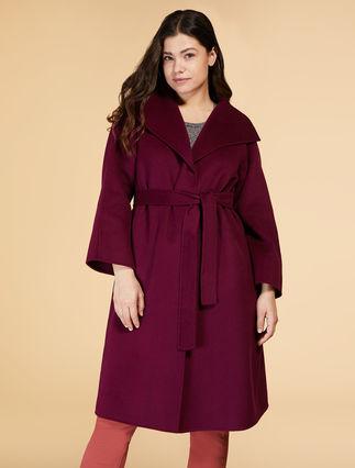 Manteau en double de laine