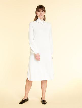 Viscose knit dress