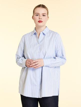 Cotton jacquard shirt