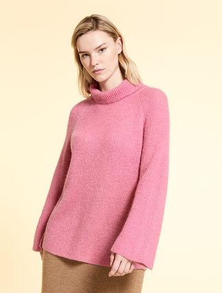 Pullover aus Alpaka und Mohair